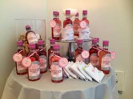 Diy Wine Bottle Labels Diy Baby Shower Favor Mini Bottle Of Wine Labels By Avery Labels