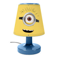kids bedroom lighting. Image Is Loading DESPICABLE-ME-MINIONS-BEDSIDE-LAMP-CHILDRENS-BEDROOM-NIGHT- Kids Bedroom Lighting