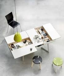 Image Table Minimalism With Dual Purpose Furniture Mojo Direct Blog Smart Furniture Home Office Furniture Design Pinterest 36 Best Dual Purpose Furniture Images Small Spaces Kitchen Small