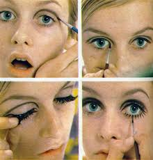 you only need one brush to do your eyes for this look the double perfect eye shadow eyeliner brush first take the larger end of the brush and apply some