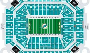 Miami University Football Stadium Seating Chart Pin By Dave Hoffman On Stadium Miami Dolphins Stadium