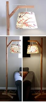creative home lighting. Check Out An Easy Idea On How To Make A #DIY #wooden Lamp # Creative Home Lighting