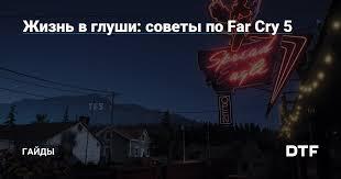 Жизнь в глуши: советы по Far Cry 5 — Гайды на DTF