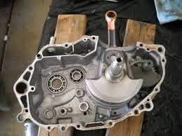 400ex step by step motor build once the crank and balancer are installed you can start installing your transmission parts first things first put the countershaft and mainshaft gear sets