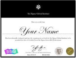 Lean Six Sigma Green Belt Certification Online