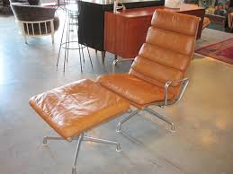 eames soft pad lounge chair and ottoman. eames \u003cem\u003esoft pad\u003c\/em\u003e lounge \u0026 ottoman soft pad chair and a