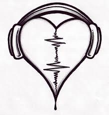 Motiv Tetování Hudba 1431