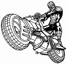Spiderman Da Colorare Pdf Disegni Da Colorare E Stampare Moto