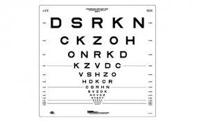 Etdrs Chart How To Use Carleton Optical Logmar 4m Etdrs Original Chart 2