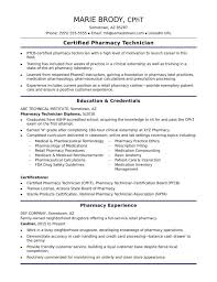 Pharmacy Tech Resume Template Pharmacy Tech Resume Template Resume Sample