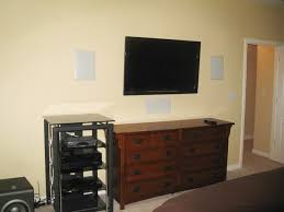 flat screen tv on wall with surround sound. tv mounting on wall -- no stand where to put speakers? - avs forum   home theater discussions and reviews flat screen tv with surround sound