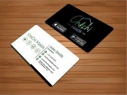 Entry 23 By Bakhtear05 For Design Modern Business Card With