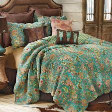western bedding full queen size prairie flower quilt lone star western decor