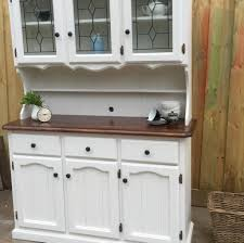 gorgeous kitchen buffets with hutch featuring dovetailed drawer and detailed door cabinets with leaded glass front upper graded compartment