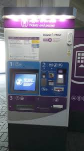 Ticket Vending Machine Budapest Interesting Arriving At Budapest Airport How To Exchange Money And Where To