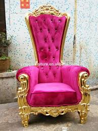 high back wedding king and queen throne chairs