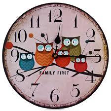 Retro Kitchen Wall Clocks Online Buy Wholesale Wood Wall Clock From China Wood Wall Clock