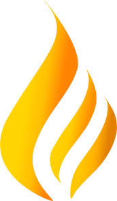Maron Flame Logo 4 Clip Art at Clker.com - vector clip art online ...