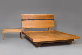 slate bed frame. Wonderful Slate Solid Wood Bed And Nightstand Made From Cherry Slate In Custom Sizes By  Seth Rolland  To Slate Bed Frame M