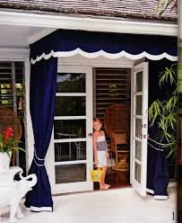 Pin by Patti Porter on Landscaping | Outdoor curtains, Patio doors, Awning