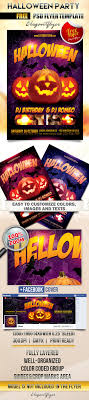 20 psd halloween flyer templates psd templates bigpreview halowwen party flyer psd template facebook cover3