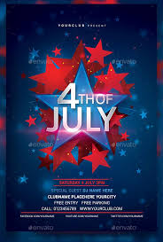 4th Of July Flyer Templates 20 Best Psd Vector Templates