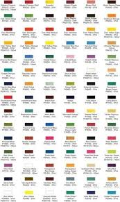 Oil Paint Color Chart Grumbacher Pre Tested Oil Color Chart In 2019 Oil Painting