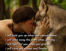 Native American Wolf Quotes Sayings Simple Native American Love Sayings