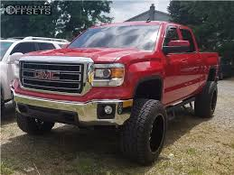 2014 gmc sierra lifted red. 1 2014 sierra 1500 gmc suspension lift 7 xd buck 25 black super aggressive 3 5 lifted red a