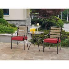 Three Piece Bar Table Patio SetThree Piece Outdoor Furniture