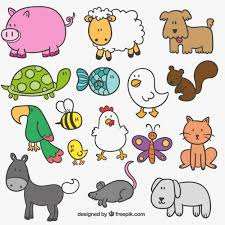 cute farm animals drawings. Exellent Farm Cute Hand Drawn Farm Animals Source Freepik License Free For Commercial  Use With Attribution File Type Ai Date Fri 09 Oct 2015 Categories Vectors  With Farm Animals Drawings L