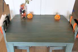 Paint A Kitchen Table Imeeshucom Mmsmp Kids Dining Table Redo And Halloween Diy