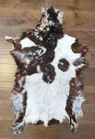 goat skin rug goatskin rug goat hide skin soft fur animal skin genuine leather rug cow goat skin rug