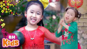 Nhạc Tết Thiếu Nhi Hay Nhất 2021 ♫ BÉ ĐÓN TẾT SANG ♫ BÉ CHÚC TẾT - Nhạc  Xuân Vui Nhộn Cho Bé - YouTube