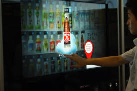 Touch Screen Vending Machine Japan Best South Korea TrendsEN Interactive Vending Machine