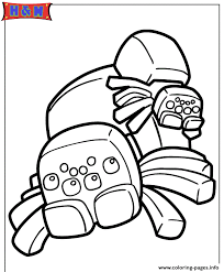 Small Picture spiders from minecraft video game Coloring pages Printable