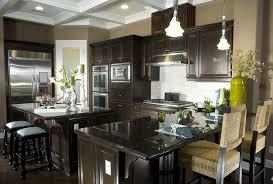 custom kitchen island ideas. Dark Kitchen Island With Eat In Dining And Bar Counter Custom Ideas