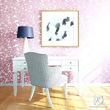 fl wall stencil modern flower wallpaper stencils for easy decorating and painting uk s