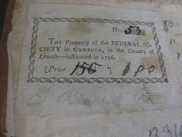 200 year old library book returned to camden