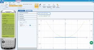 microsoft mathematics is a free maths for windows by microsoft you can use this tool to easily plot graphs on the interface of the calculator