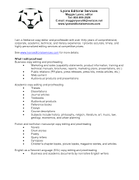 Resume Format For Freelance Writer Lovely Freelance Resume Writing