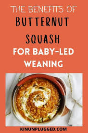ernut squash for baby led weaning
