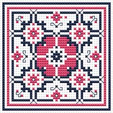 Free Biscornu Charts Biscornu Free Charts Cross Stitch Patterns Various