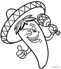 Get This Online Cinco de Mayo Coloring Pages for Kids 57070 !