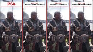 Ps4 Ps4 Pro Comparison Chart Monster Hunter World Graphics Comparison Ps4 Vs Ps4 Pro