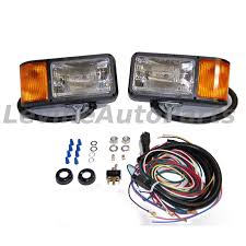 plow truck truck lite 80888p snow plow light kit wiring harness shipping