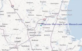 Tide Chart Danvers Ma Riverside Merrimack River Massachusetts Tide Station