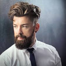 high fade long wavy hairstyle for men