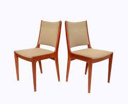 5 teak dining chairs johannes andersen uldum by hearthsidehome 595 00