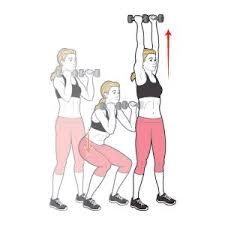 Image result for Dumbbell Squats